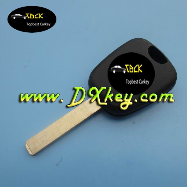Good price auto blank <strong>key</strong> with ID46 chip for peugeot 307 transponder <strong>key</strong>