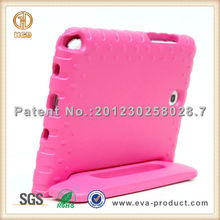 Kid Safe anti drop EVA foam stand rubber case for android tablets