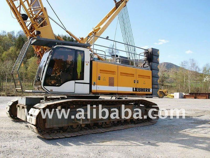 SELL 2005 LIEBHERR LR1100 USED CRAWLER CRANE
