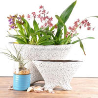Wholesales Ceremic Bubble Glaze Flower Pot
