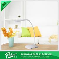 Latest design fashionable hotel use sunlight office table lamp