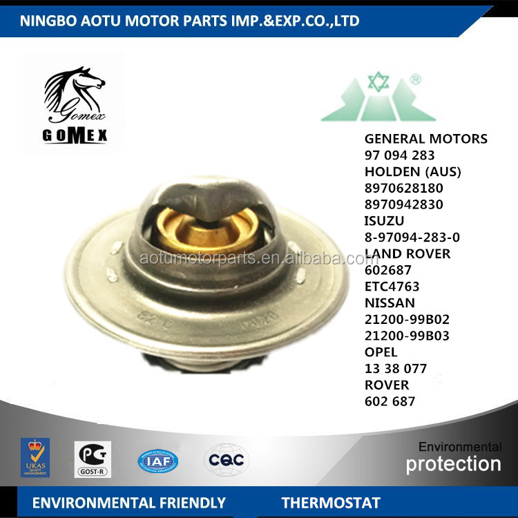 auto cooling system parts car spare thermostat 4062172 4065540 4086415 4138169 4138769 1420533 1461931 for FIAT