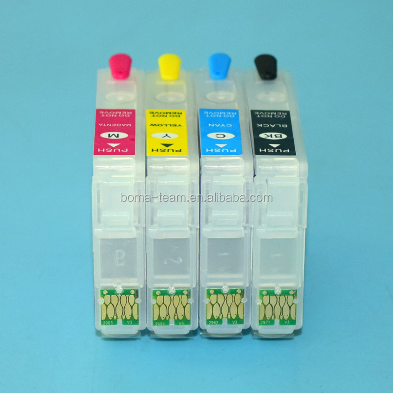 Chip reset to full level ink cartridge for epson Printer Stylus T33 TX210 TX100 TX105 TX200 T21 T23 T30 T40w ink cartridge