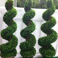 Artificial Spiral Tree Plastic Simulation Plants