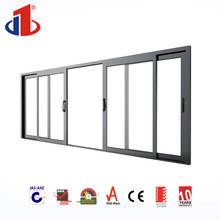 As204 Aluminium Cheap House Door Slider / French Patio Doors For Building