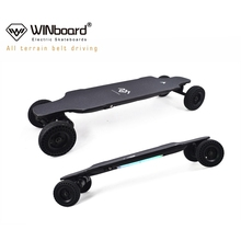 WINboard GTM2 PRO 6inch big wheels 2000w N5065 dual belt motor electric skateboard off road