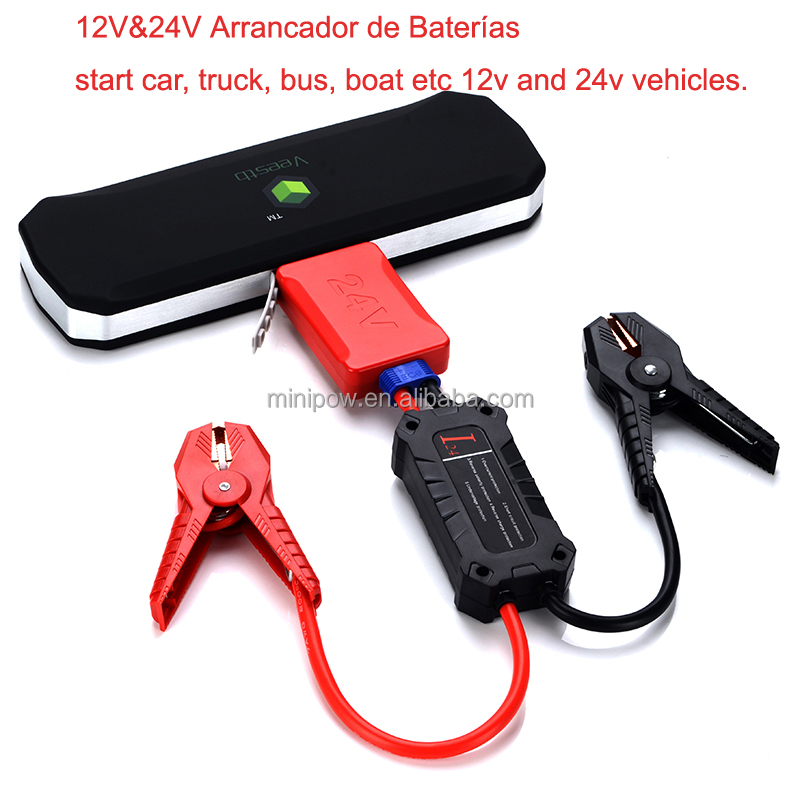 Car Battery charger Smart Jump Cable 420HP Truck Car Battery Booster 24V Car Battery Starter Wholesale