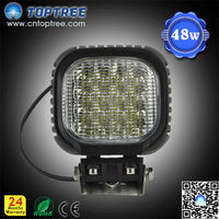 48w Strong and durable off road light with led bulbs,led working lamp head light