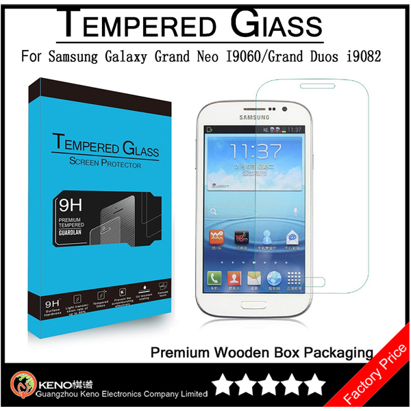 Keno Smartphone Accessories For Samsung Galaxy Grand Duos i9082 Tempered Glass Screen Protector