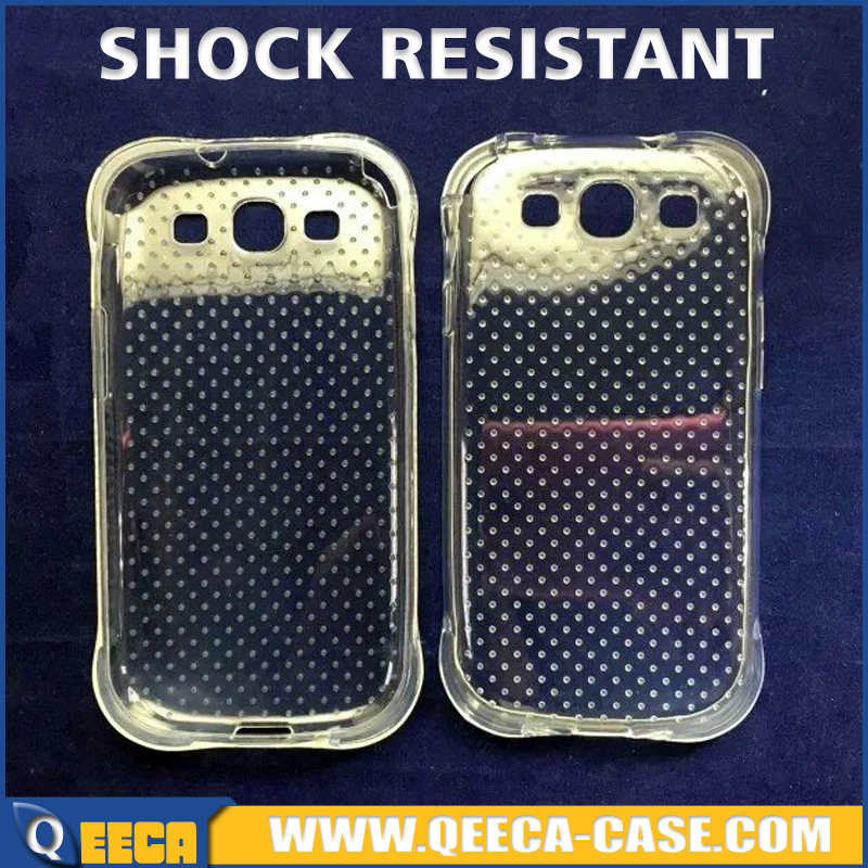 Wholesale price 100% shockproof tpu case for samsung galaxy s3 i9300 protective back cover
