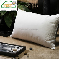 Natural Comfort cotton cover Classic White Duck Down Feather Pillow
