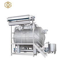 Low power consumption high temperature high pressure textile winch dyeing machine carrier