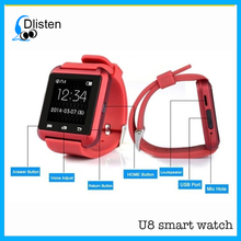 2016 New Smartwatch BT smartphone watch u8 for iPhone & Samsung Android Phone relogio inteligente U8 smart watch