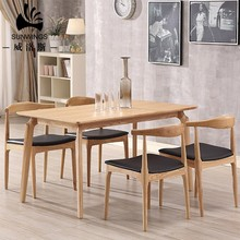 Contemporary Design Wooden Dining Table Set 8 seater Home <strong>Furniture</strong>
