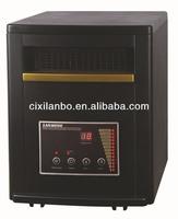 Wooden Cabinet Quartz Infrared Space Heater 1500w 5120btu-fl