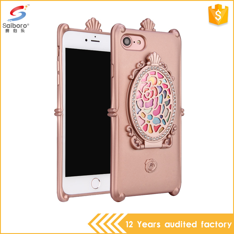 2017 Hot selling for ladies phone case,mirror case for iPhone 7 7 plus