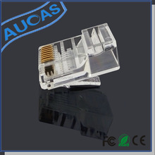 10 pin rj45 connector adaptor / rj45 female connector keystone jack / amp rj45 male to femail connector