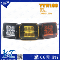 "Standard parts autobike Parts of work light 18w off road led driving light bar 2"" led light CE approved"
