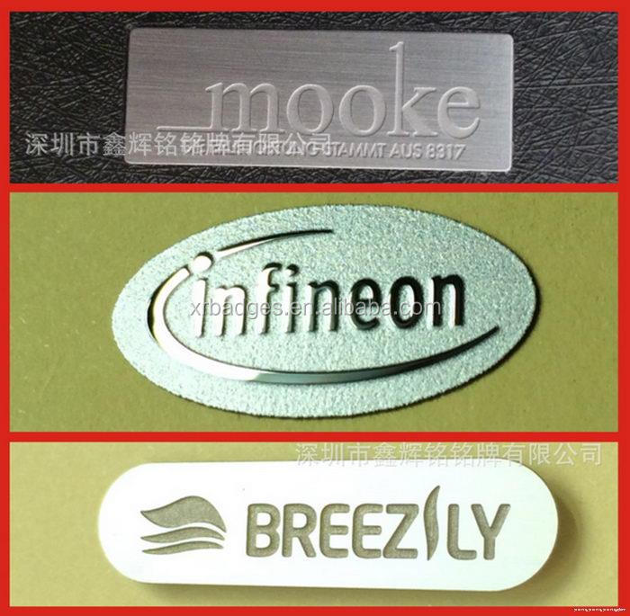 Excellent quality hot selling custom logo stamped metal tag