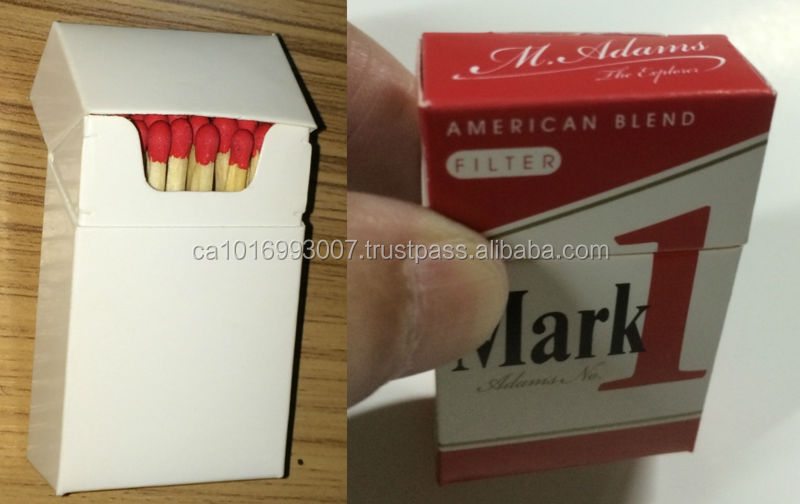 Cigarette Promotional matches boxes