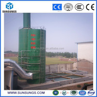 Fume and dusts extractor flue gas wet scrubber for desulfuration system