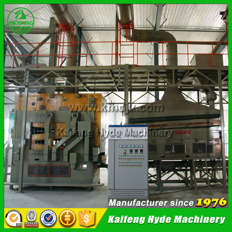 10 t/h wheat seed processing plant manufacturer - Hyde Machinery