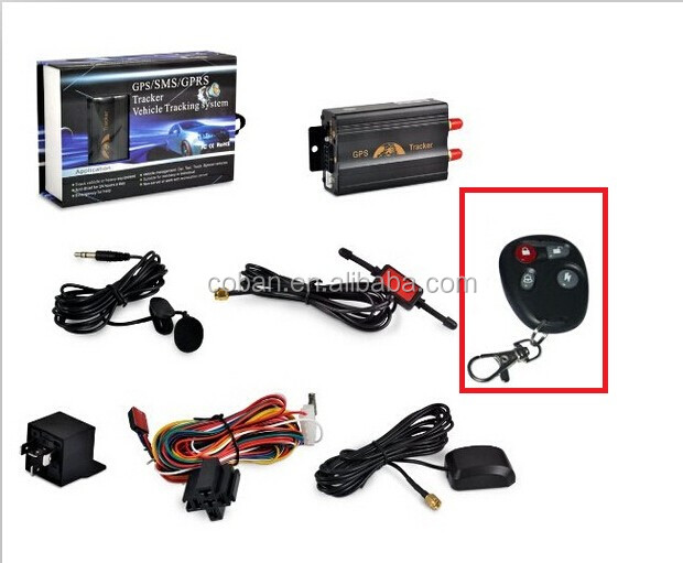 Coban manual gps vehicle tracker tk103 2 with Mobile&Web&PC software tracking system