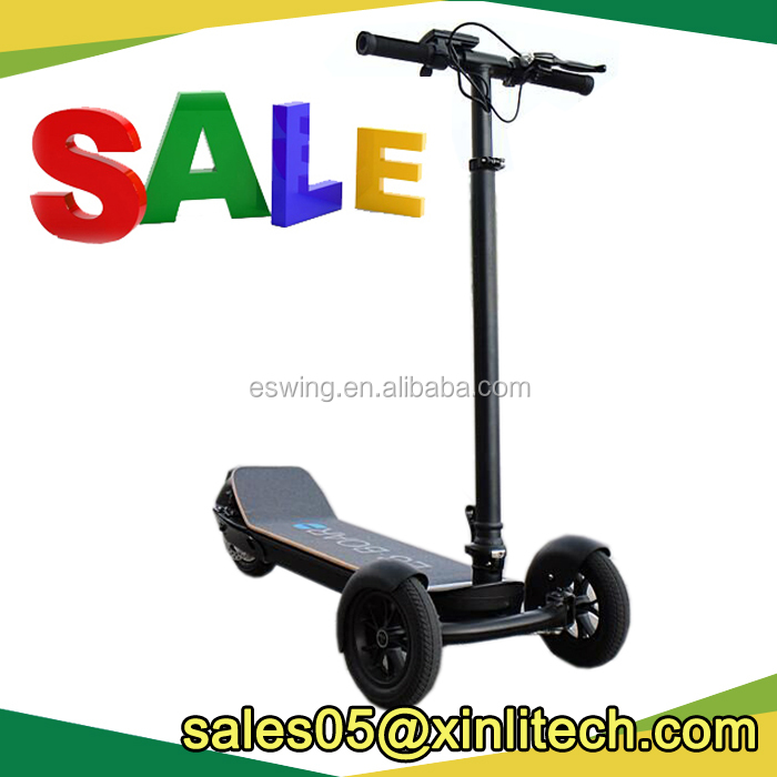 Foldable e-motor scooter with 48V 6.6Ah SAMSUNG battery
