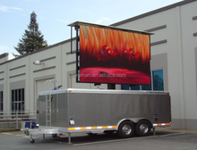 P10 mobile Vehicle/truck/trailer/car moving advertising led display for sale smd p5 p6 indoor led rental screen