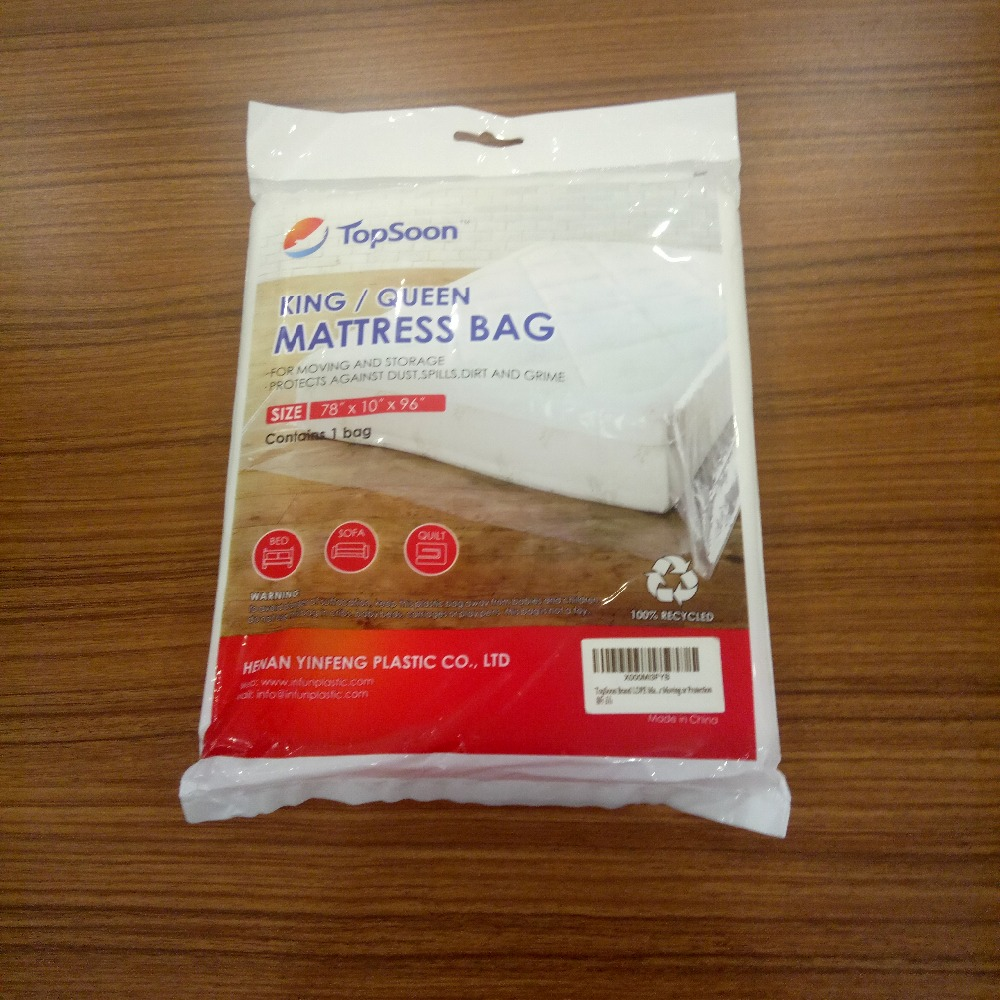 The most popular furniture removable plastic mattress bag