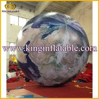 3mDia Giant Used Inflatable Earth Globe Advertising Product