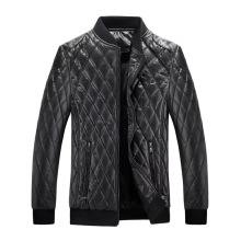 High quality <strong>men</strong> cotton coat, bomber <strong>jacket</strong> for <strong>men</strong>, PU leather biker <strong>jacket</strong> faux leather