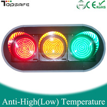 300mm LED Vehicle traffic Signal light with 3full screen