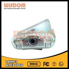 Brightest among the industry lamp 3 miner headlight led for underground mine