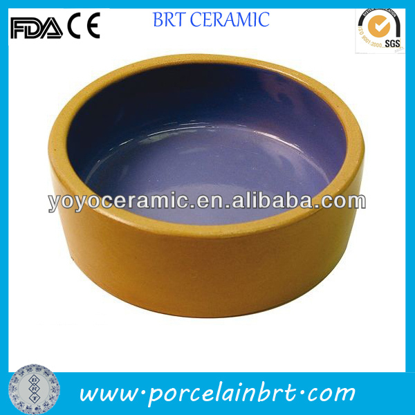 good wholesale stoneware pet bowls