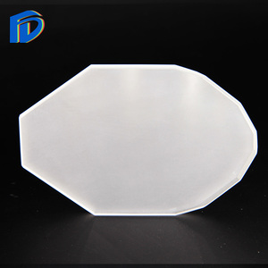 Opaque Square Quartz Glass Sheet Plate Window