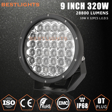 2017 Super Bright Car Accessories 28800lm 5D 9 inch 320W LED Work Light Work Lamp Driving light for SUV ATV UTV Jeep