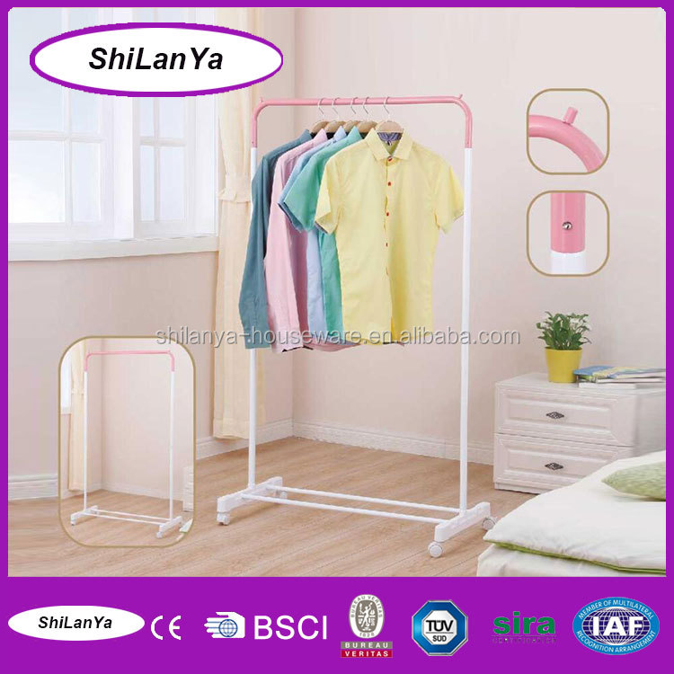 bedroom dress houseware stainless steel coat hanger stand