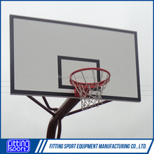 Common Outdoor Timber Basketball Board with Hoop(3 years warranty)