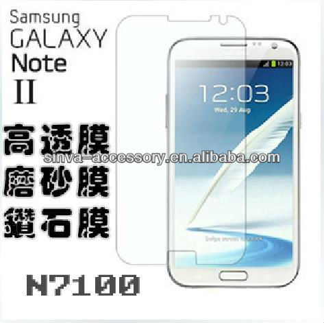 99.23% Transparency Screen Guard for Samsung Galaxy Note 2