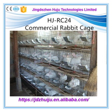 outdoor galvanized folding rabbit cages for sale manufacturer