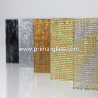 Prima safety strengthened metal mesh laminated glass