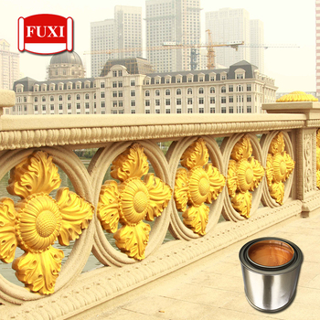 Bridge Steel Structure Fluorocarbon Gold Durable Paint
