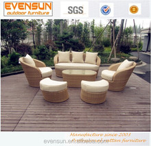 2014 Hotsale Wicker Aluminum Outdoor Roots Rattan Outdoor Furniture