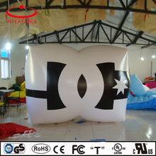 advertising inflatable decoration helium square balloon with logo printing