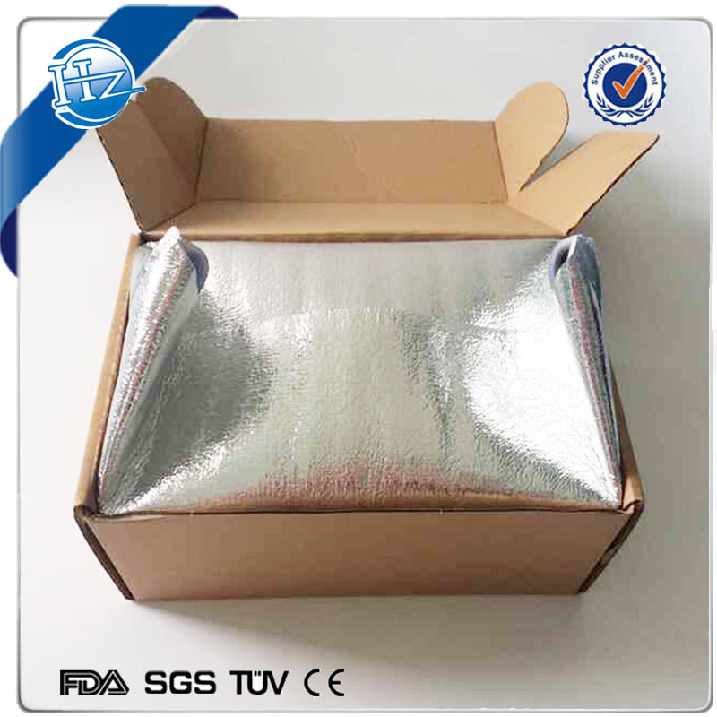 food grade Refrigerated Food Packaging Solution Foam Insulated Box Liners thermal bag