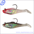Hot lead head fishing plastic soft lure