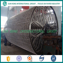 Paper making machine used cylinder mould for paper forming process