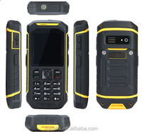 X6 Support 5km walkieTalkie Function 2.4 Inch Best Outdoor Waterproof Rugged GPS Mobile Phone x6