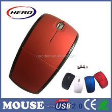 2015 foldable portable computer mouse with custom service